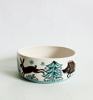 small bowl - zver (green)