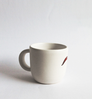piccolo mug - Ludevít (brown)