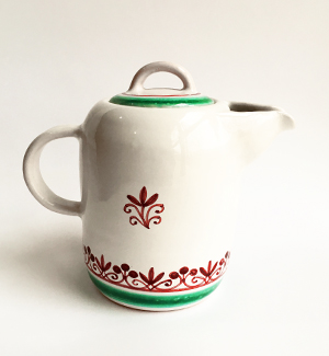 milk jug - klasik (red-green)
