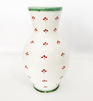 classic vase - klasik (red-green)
