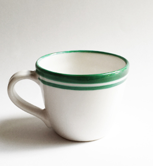 coffee mug - krúžek (green)