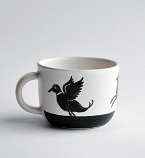 coffee mug - zver (black)