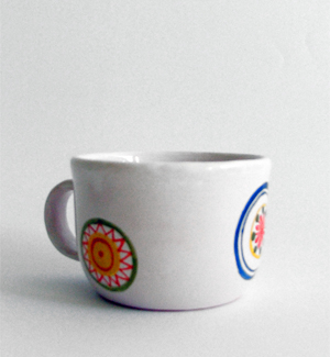 coffee mug - kvet