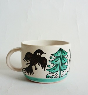 coffee mug - zver (green)