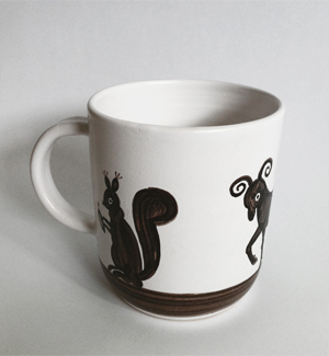 giant mug - zver (black)