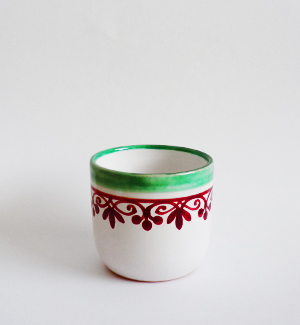 shot cup - klasik (red-green)