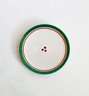 medium plate - klasik (red-green)